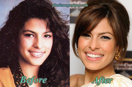 EvaMendesPlasticSurgery Eva Mendes Plastic Surgery Boobs Job, Nose Job Before After Pictures