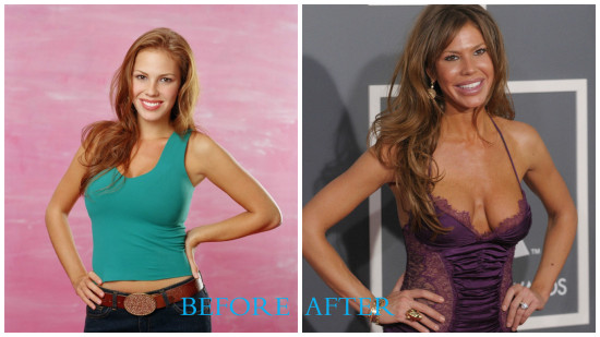 Nikki Cox 550x309 Nikki Cox plastic surgery pics (Before and After)
